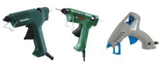 8 лучших клеевых пистолетов для дома и рукоделия