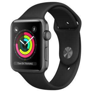 Apple Watch Series 3 38mm Aluminum Case with Sport Band смарт часы